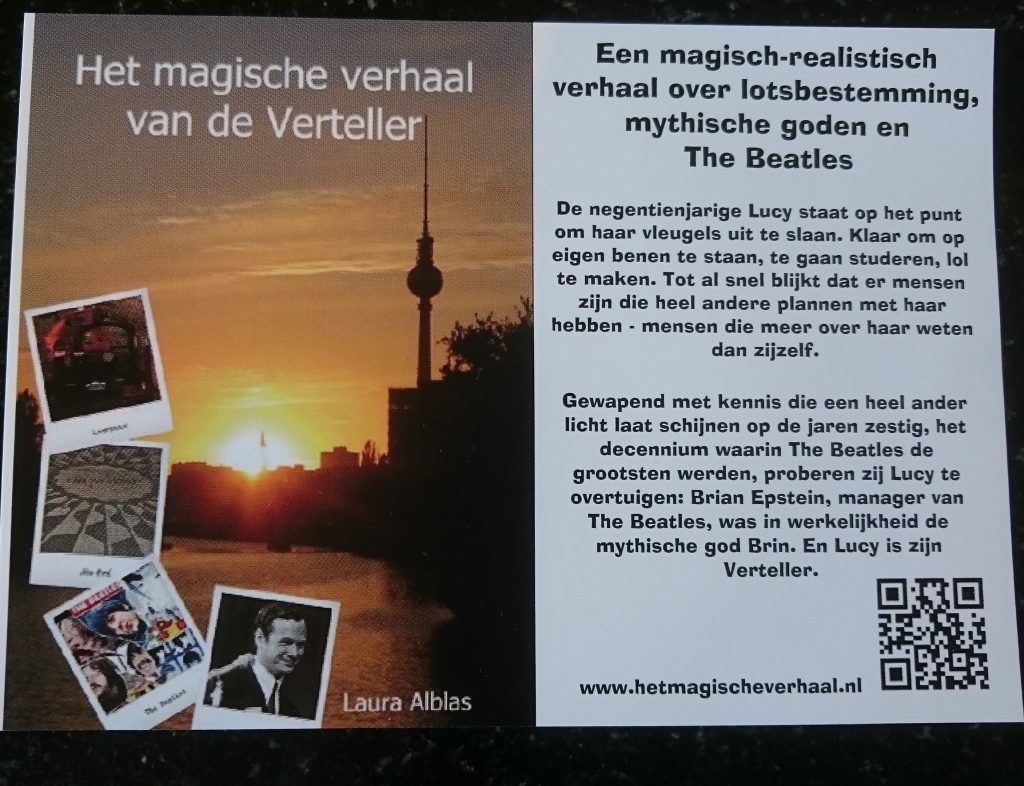 Flyer van Het magische verhaal van de Verteller