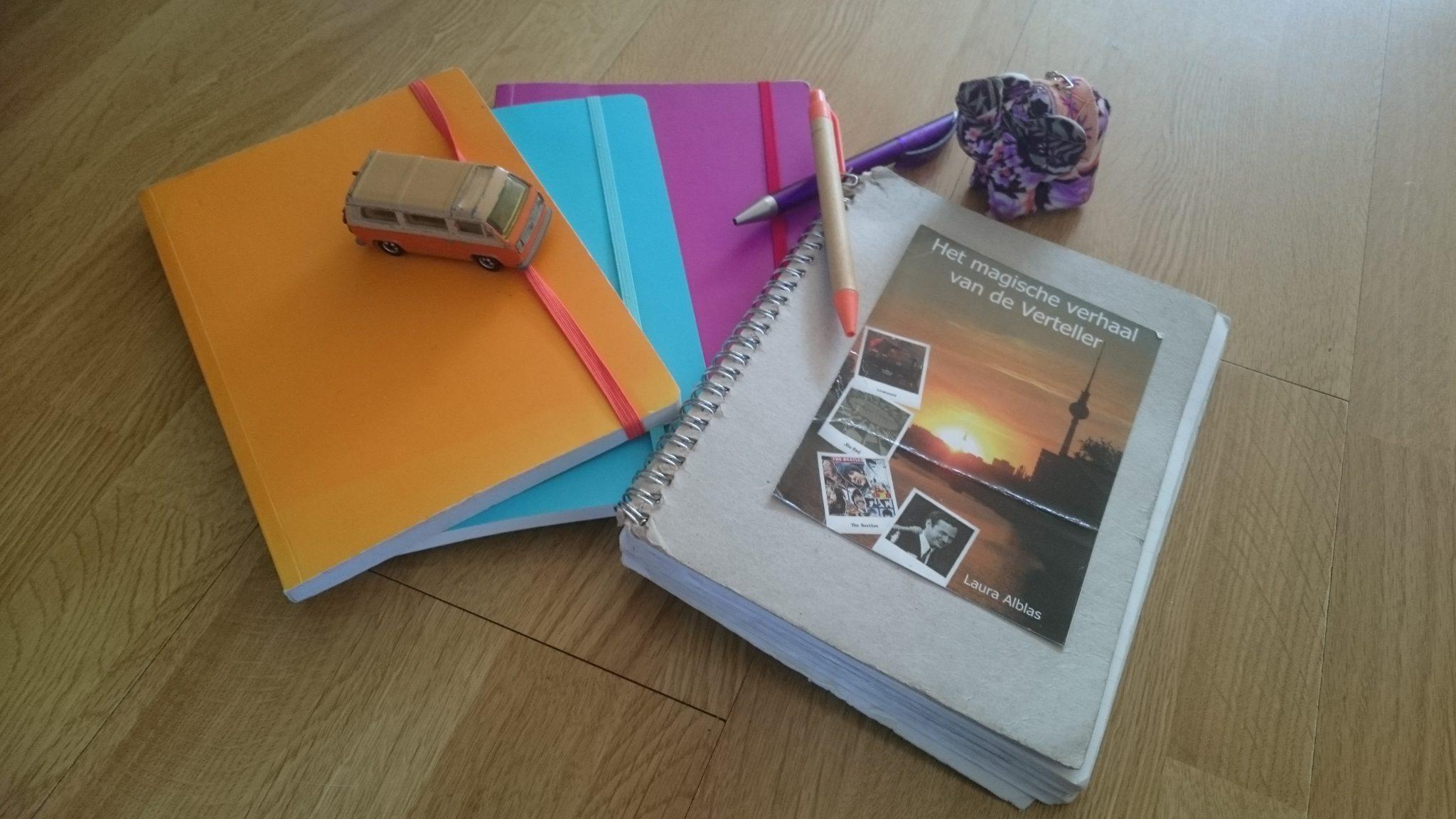 schrijven op vakantie | HMVVDV
