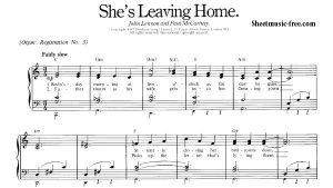 She's Leaving Home | HMVVDV