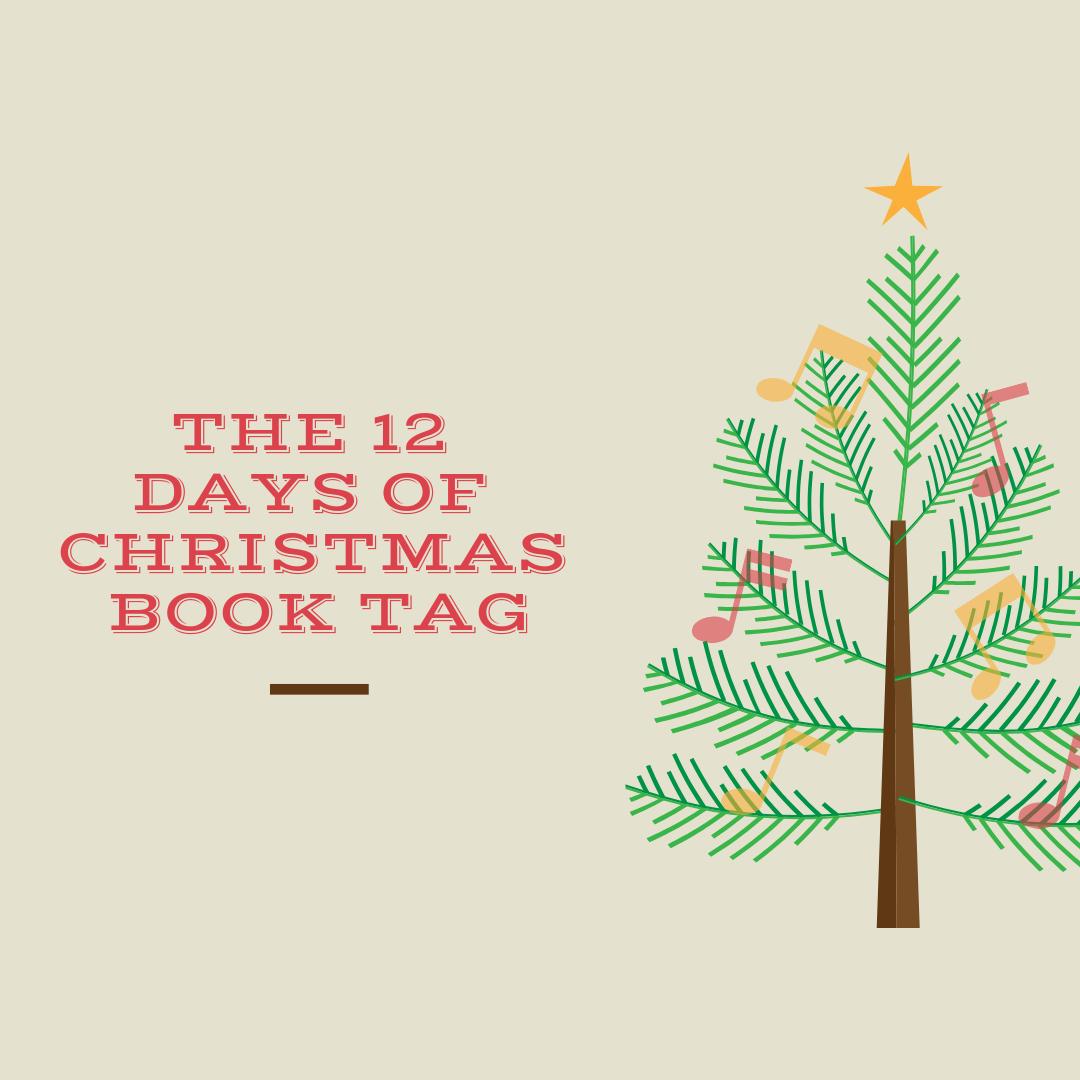 12 Days of Christmas Book Tag | HMVVDV