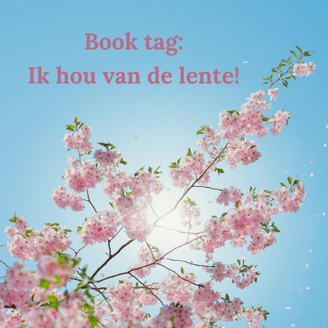 Book tag: ik hou van de lente | HMVVDV