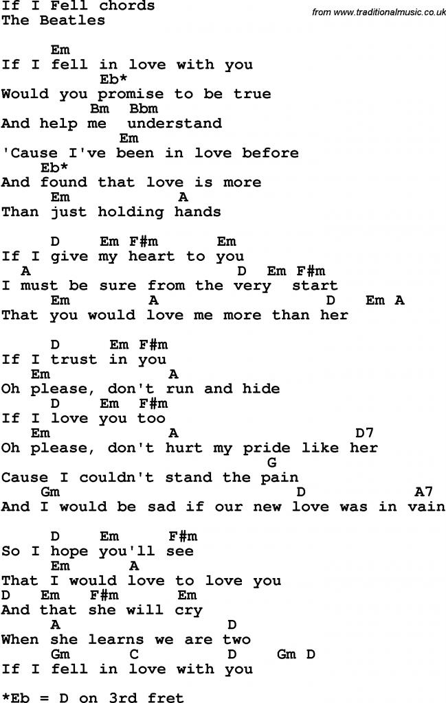 Hoofdstuk 6: If I Fell | HMVVDV