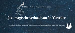 Nieuwe cover Het magische verhaal van de Verteller teaser | HMVVDV