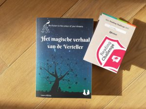 Het magische verhaal van de Verteller en de Hebban Boek-per-week Challenge | Het magische verhaal
